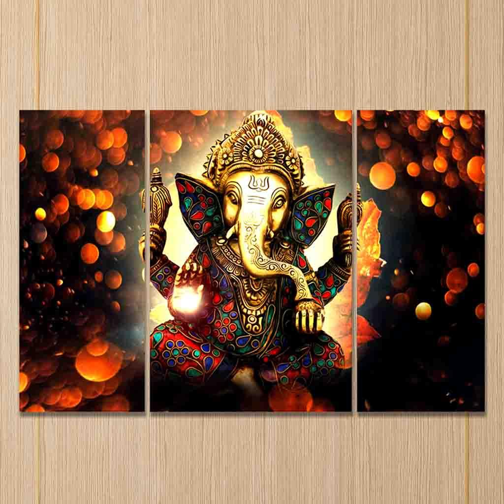 beautiful lord ganesha painting