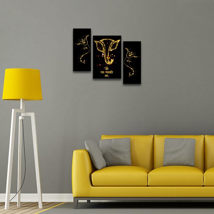 Ganesha Mantra Home Decor Ideas For Living Room