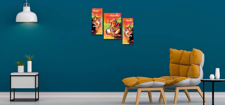 Ganesha Modern Art Paintings