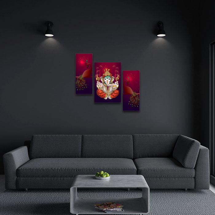 Ganesha Painting Home Decor Ideas For Living Room