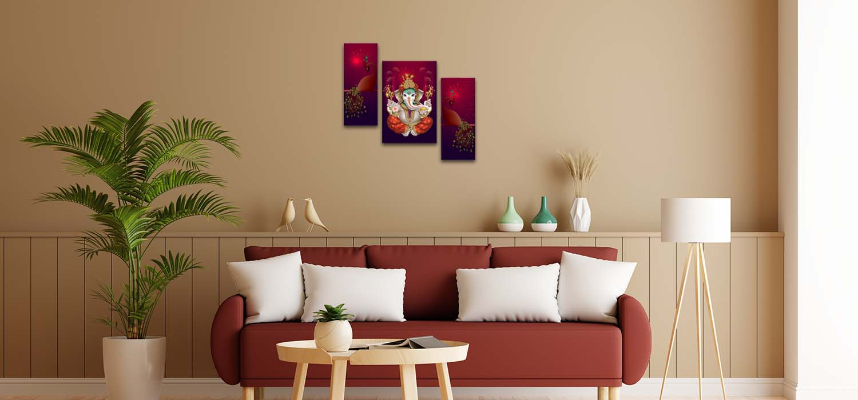 Ganesha Painting Home Decor Shop