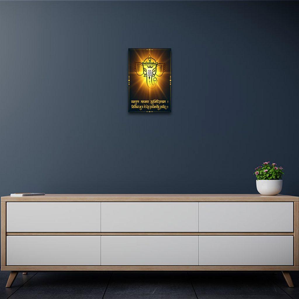 Ganesha Pics Home Decor Painting