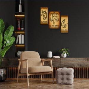 Ganesha Sketch Home Decor Ideas For Living Room
