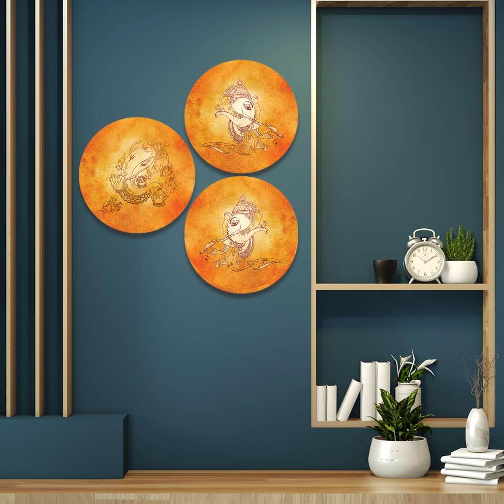 Ganesha Wallpaper Home Decor Items