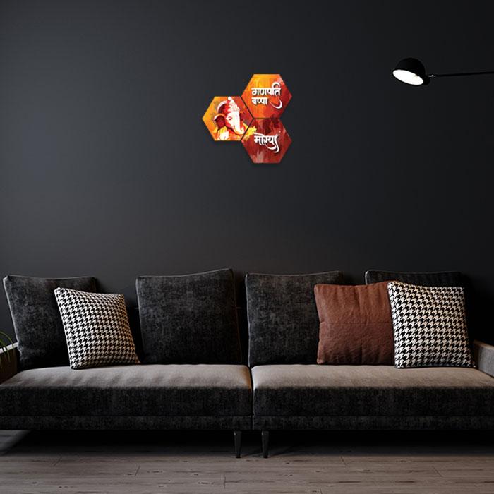 God Ganesha Home Decor Ideas For Living Room