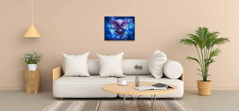 God Ganesha Images Bedroom Wall Paintings