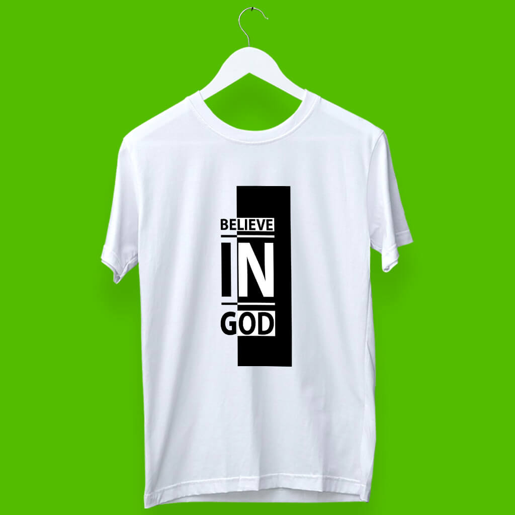 God quotes online printing t shirt