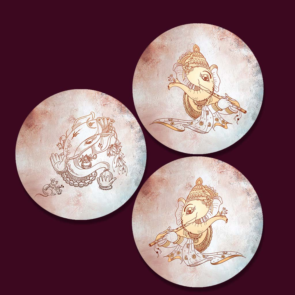 Lord Ganesha Images Paintings For Home Decor