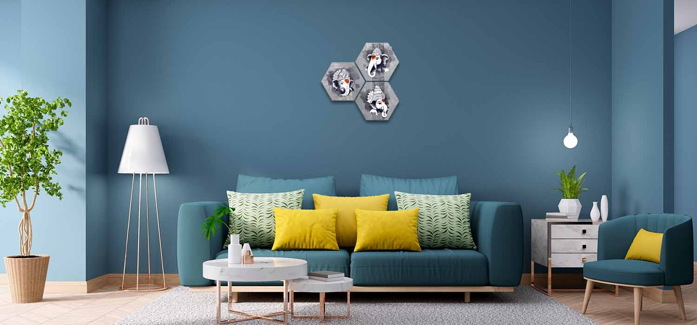 Lord Ganesha Modern Art Paintings