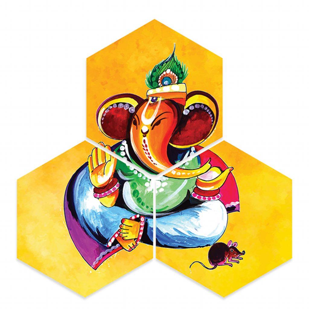 Lord Ganesha Photo Home Decor Gifts