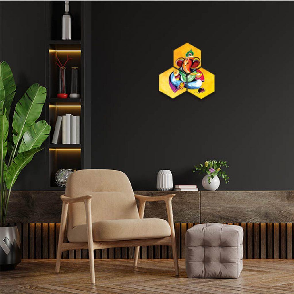 Lord Ganesha Photo Home Decor Ideas For Living Room
