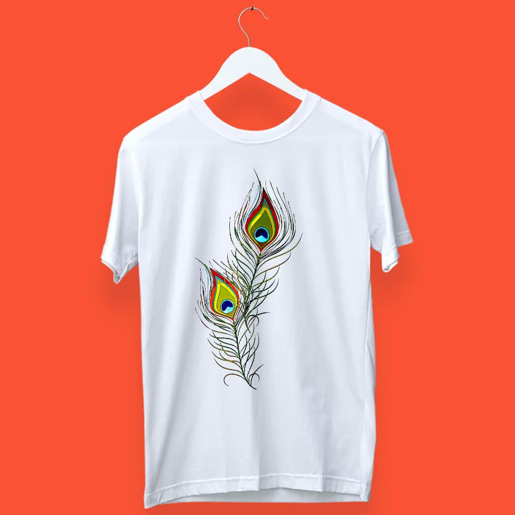 Morpankh printed round neck t shirt online