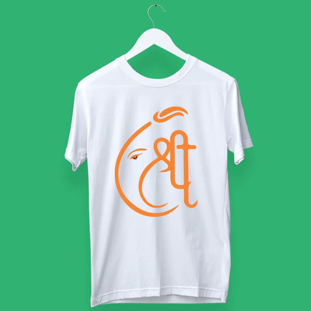 Shree Ganesh Round Neck T shirt online