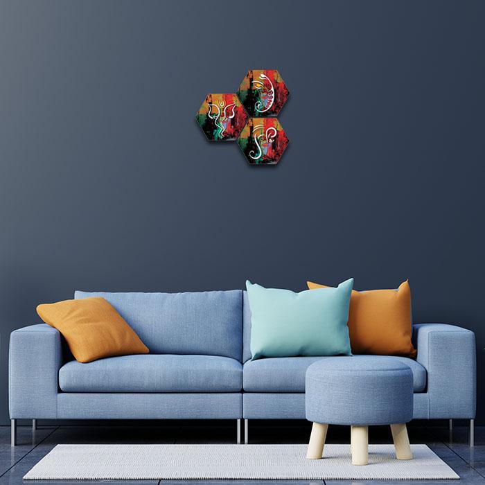 Shree Ganesha Painting Home Decor Ideas For Living Room