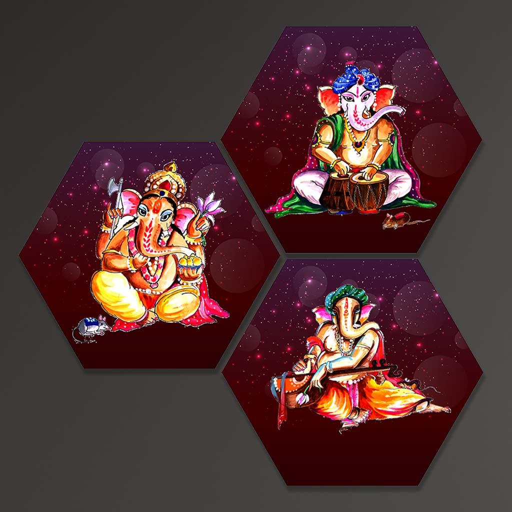 Shree Ganesha Paintings For Home Decor