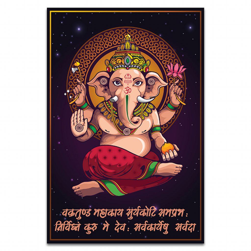 Vighnaharta Shree Ganesha Home Decor