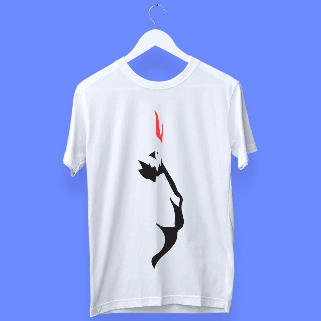 Hanuman Sketch Art Design T Shirt For Men