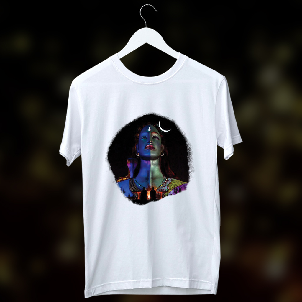 Adiyogi printed t shirt for men