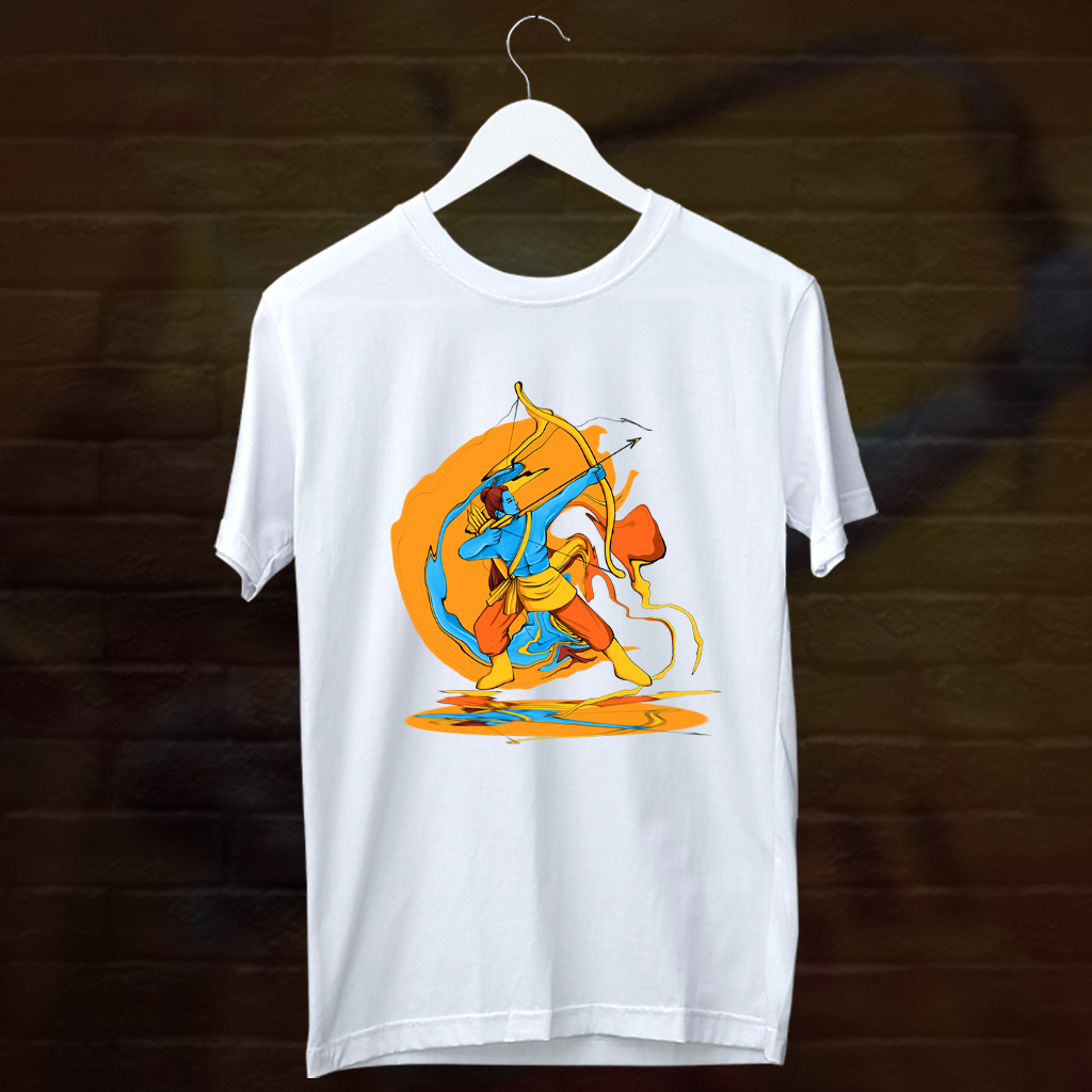 God Ram Painting T Shirt Design