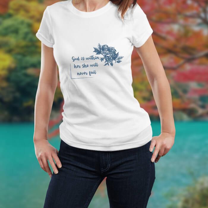 Women Quotes T-Shirt For Women Online