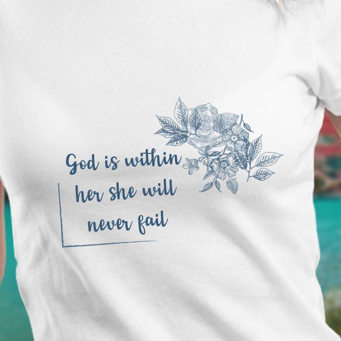 Women Quotes White T Shirt Women