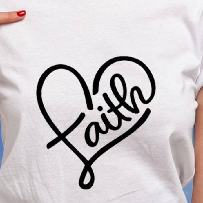 Pin On God Graphic Women's White Round Neck T-Shirt