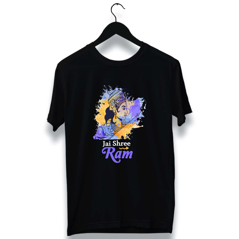 Shree Ram Combo printed t shirt
