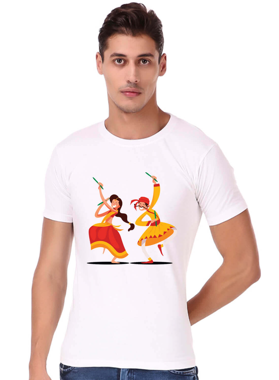 Garba Navratri Printed T-shirt