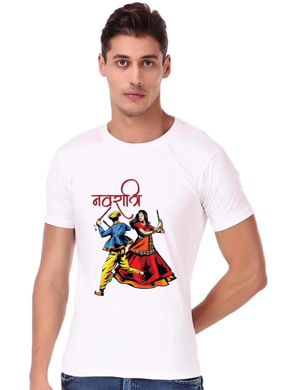 Navratri Printed T-shirt