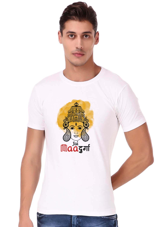 Durga mata Printed T-shirt