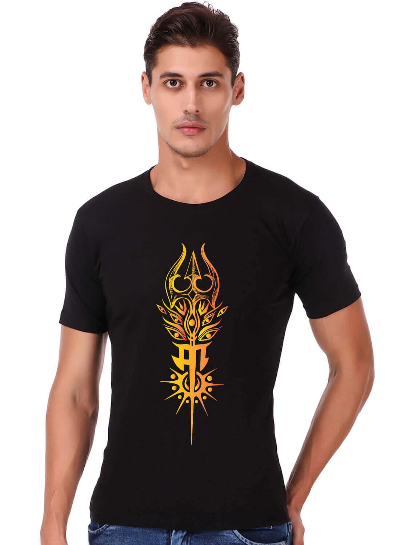 Maa Printed T-shirt Black