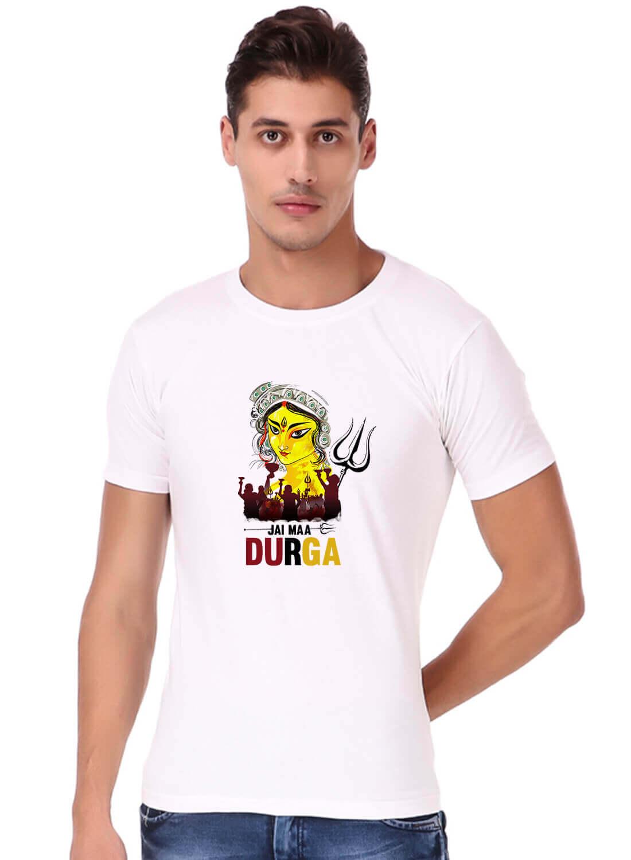 Jai Maa Durga Special Printed T-shirt